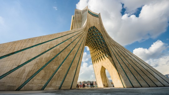 Azadi Tower in Teheran, Iran